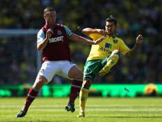 Saturday's Premier League action kicks off at Carrow Road where Norwich City face West Ham United.