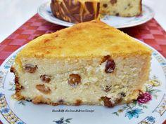 Pasca fara aluat - Bunătăți din bucătăria Gicuței Pie Recipes, Cooking Recipes, Cheesecake, No Cook Desserts, Something Sweet, Coco, Vanilla Cake, Deserts, Chocolate Cake