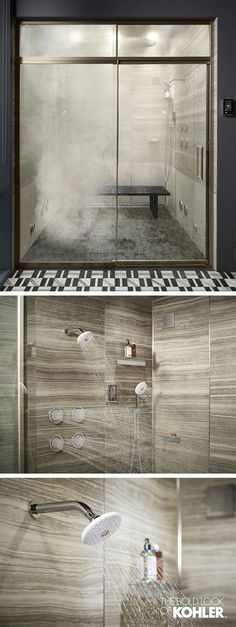 Wonderful The Minimalism Unveiled Master Bath offers an elevated shower experience; control water volume, temperature, and steam. The post The Minimalism Unveiled Master Bath offers an elevat .