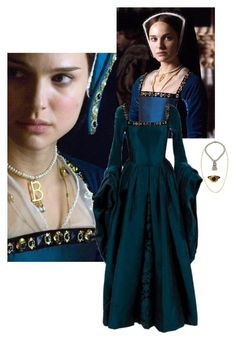 """Anne Boleyn"" by daughter-of-apollo92 ❤ liked on Polyvore featuring Stephanie Kantis"