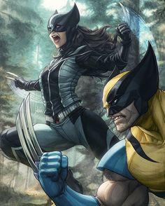 Wolverine & X-23 da X-Force.