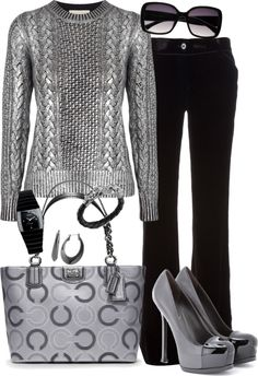 """the silver lining"" by tina-harris on Polyvore"