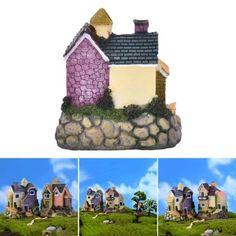 ซื้อเลย  Garden Ornament Miniature House Flower Figurine Craft Plant PotFairy Decor - intl  ราคาเพียง  130 บาท  เท่านั้น คุณสมบัติ มีดังนี้ Material:Resin Size: 7cm*6cm Color: 4 type random send