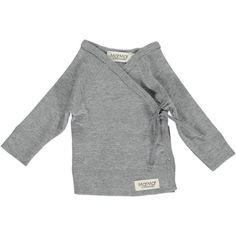 MarMar - Wickelcardigan Newborn grey melange