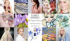 David Zyla's 24 Archetypes Bright Spring, My Spring, Spring Green, Early Spring, Spring Colors, Light Spring Palette, David Zyla, Spring Scenery, Spring Animals