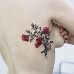 I would love something like this for when I get my poppy tattoo