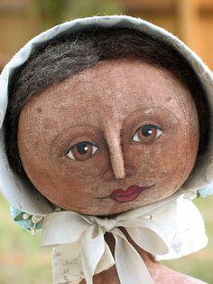 AnnieBeez...primitive dolls.