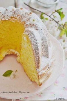 Z miłości do słodkości...: Babka majonezowa