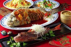 Chinese dining menu