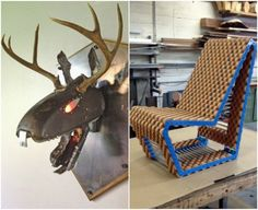 Both The Angry Jackalope and the Conveyor Chair were one-off projects and a lot of fun to make, Bietz says