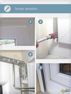 Küche Fenster einstellen: Dazu bedarf es wirklich keines Fachmanns. Wie einfach das Einstellen eines Kunststoff-Fensters tatsächlich ist, zeigt diese Anleitung.