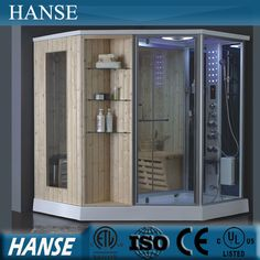 Source HS SR079 Sauna Steam Room Combined/ Steam Shower Room With Dry Sauna  On