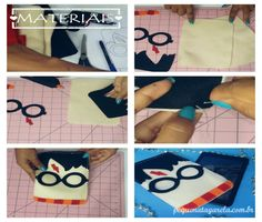 DIY : Capa para tablet Harry Potter | Pequena Tagarela