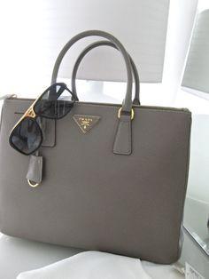 "Grey Prada White Chicks- ""it's not JUST a bag. it's Prada. Prada Bag, Prada Handbags, Handbags Online, Louis Vuitton Handbags, Purses And Handbags, Purses Online, Grey Handbags, Prada Clutch, Popular Handbags"
