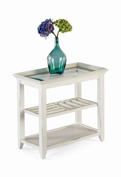 Sandpiper Ii White Chairside Table Hom Furniture S In Minneapolis Minnesota Midwest