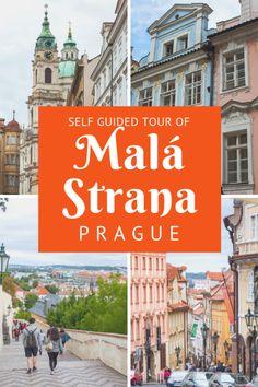 Don't Skip this Walking Tour of Prague's Secret Lesser Quarter, Malá Strana — The Creative Adventurer Prague Travel Guide, Europe Travel Tips, Budget Travel, Mall Of America, North America, Beach Trip, Beach Travel, Prague Castle, Old Town Square