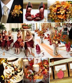 Cranberry Wedding Palette: Perfect For A Fall Wedding - Inspired Bride