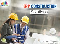 #ERPConstructionSolution is a boon for the real estate professionals. They can manage all the construction detail on with the help of software so that you can save your time and money apart from the paper work. See more @ http://bit.ly/2lzYyYH #RealERP #ConstructionSolution