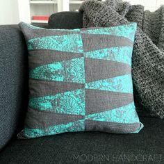 Empilhados Dresden Travesseiro | Artesanato moderno