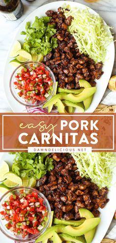 Pork Recipes, Mexican Food Recipes, New Recipes, Favorite Recipes, Mexican Meat, Mexican Entrees, Simple Recipes, Damn Delicious Recipes, Yummy Food