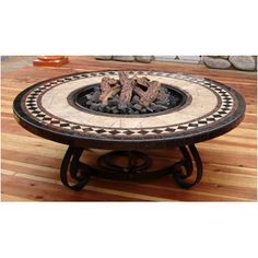 Sundance Southwest Traditional Style Fire Pit Table & Reviews | Wayfair