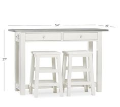 Jofran Counter Height Table In Whitecherry Get With 4