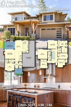 Ready When You Are! Where Do YOU Want To Build? #23517JD #adhouseplans  #architecturaldesigns #houseplans #architecture #newhome ...