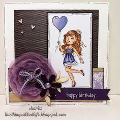 Your Next Stamp - Darling Diva Victoria