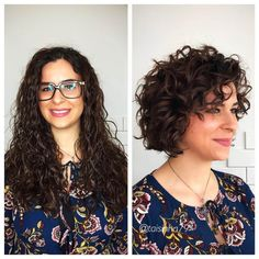 25 Lively Short Haircuts for Curly Hair - Short Wavy Curly Hairstyle Ideas