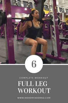 The Perfect Leg Workout | Leg Exercises | Leg Workout Routine
