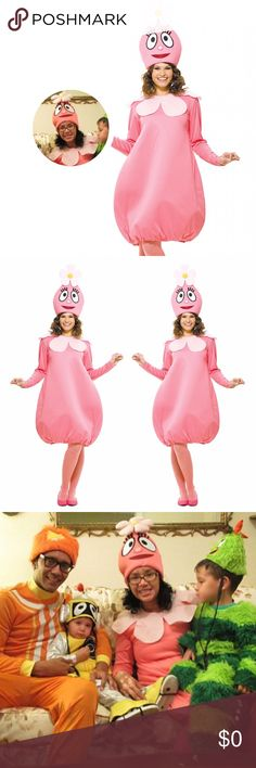 Yo Gabba Gabba! Pink FOOFA Flower Bubble Costume Yo Gabba Gabba! FOOFA Flower Bubble Costume Includes: Dress and hat. Does not include stockings or shoes. This is an officially licensed Yo Gabba Gabba product Paper Crane Other