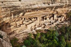 Mesa Verde (Estados Unidos) - O Parque Nacional de Mesa Verde fica no estado norte-americano do Colo... - Shutterstock
