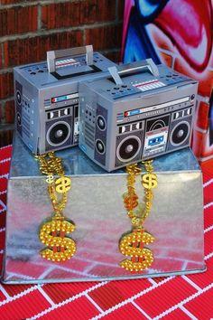 Hip Hop Birthday Party Inspiration - Shindigz