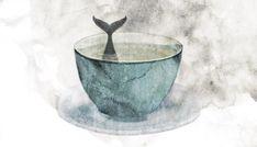 Päivi Hintsanen: A Peppermint Tea With a Whale I, 2015.