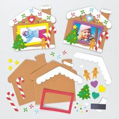 idea gift mistress 2019 - manufacture_cadre_souvenirs_noel_idee_creative_enfant_kit_with_mat . Christmas Crafts For Kids To Make, Christmas Card Crafts, Christmas Activities For Kids, Preschool Christmas, Preschool Crafts, Kids Christmas, Kids Crafts, Christmas Mood, Hansel Y Gretel