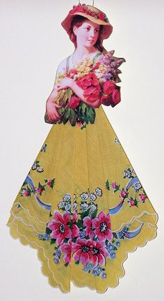Vintage Hankie Doll