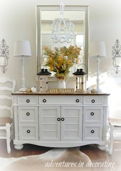 Farmhouse Bedroom Dresser Decor With Tv Ideas For 2019 Home Living Room, Living Room Furniture, Living Room Decor, Bedroom Decor, Living Room Dresser, Muebles Shabby Chic, Dining Room Buffet, Bedroom Dressers, Contemporary Bedroom