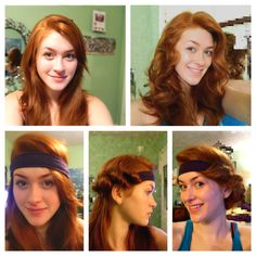 no heat headband curls! SERIOUSLY THESE ARE THE ONLY NO-HEAT CURL THAT WORKS 1920190a4a9