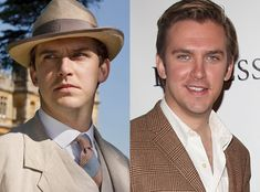 Dan Stevens, Downton Abbey aka the late Mathew Crawley, recently inherited Downton Abbey. He was the late husband of Lady Mary, father of George, son of Isobel.