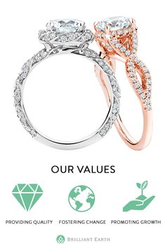 Our goal at Brilliant Earth is to make jewelry as beautiful as it can be. We are passionate about cultivating a more ethical, transparent, and sustainable jewelry industry.