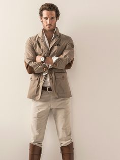 LIMITED EDITION TECHNICAL FIELD JACKET by Massimo Dutti - Great Jacket !
