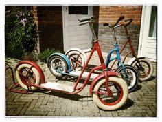 Der rote Roller könnte meiner sein :-)