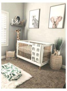 Safari Theme Nursery, Nursery Room Decor, Jungle Safari, Jungle Theme Nursery, Project Nursery, Baby Animal Nursery, Nursery Twins, Boho Nursery, Safari Room Decor