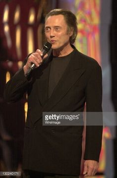 Christopher Walken during 2001 MTV Video Music Awards - Show at The Metropolitan Opera House at Lincoln Center in New York City, New York, United States.