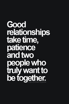 Good things about dating