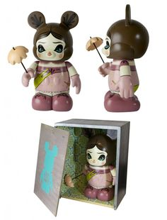 Custom Vinylmation Designed by Julie West, Part of the Haunted Mansion Vinylmation Series Coming to Disney Parks