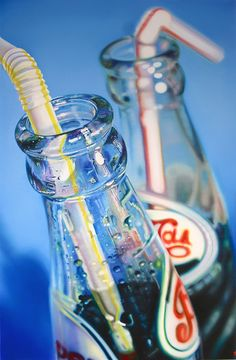 Just love these cola bottles - by Sarah Graham