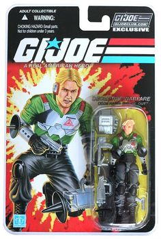 GI Joe Figure Subscription Service Carded Psyche-Out Image 1