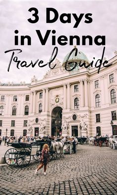 3 days in Vienna Travel guide - everything to see, do, and eat in Vienna Austria. Vienna itinerary and travel plan. #vienna #austria #travelguide #travel #europe
