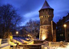Sibiu Romania eastern europe cities Transylvania carpenter tower